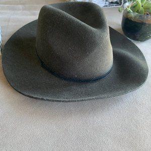 H&M Wool Wide Brim Panama Hat